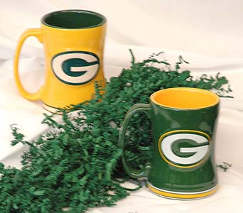 Green Bay Packers Mug in Hales Corners WI, Barb's Green House Florist