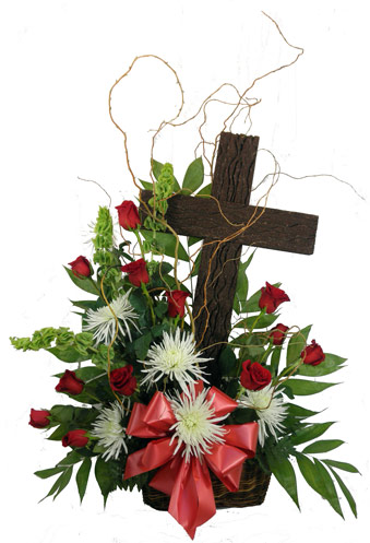 Old Rugged Cross Basket in Fredericksburg VA, Heaven Scent Florist