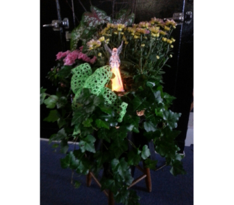 Lighted Angel in Statesville NC, Brookdale Florist, LLC