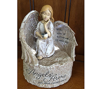 LED Lighted Angel in Brownsburg IN, Queen Anne's Lace Flowers & Gifts