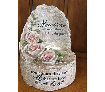 Lighted -Memories in Brownsburg IN, Queen Anne's Lace Flowers & Gifts
