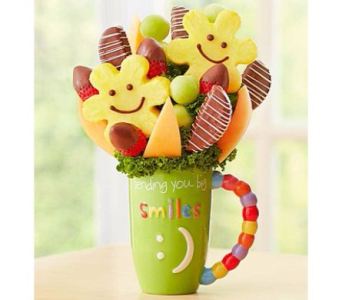 Happy & Sweet Mug in Palm Bay FL, Beautiful Bouquets & Baskets