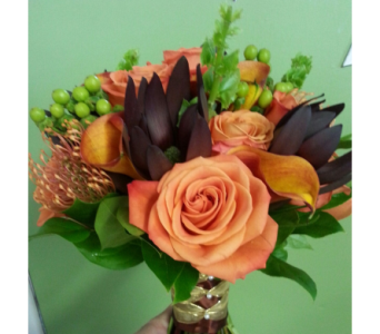 Fall Wedding Bouquet in Statesville NC, Brookdale Florist, LLC