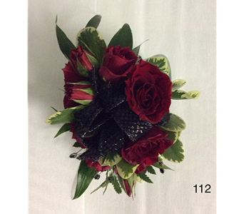Red Rose Corsage in Branford CT, Myers Flower Shop