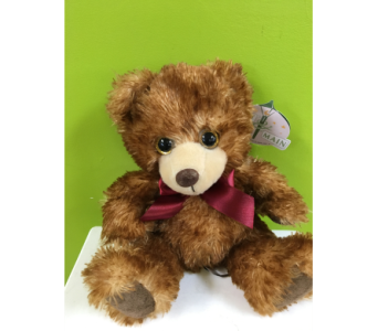Small Brown Plush Bear in Jamesburg NJ, Sweet William & Thyme