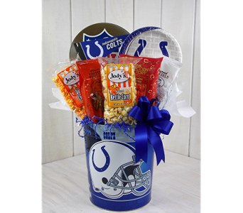 Colts Gourmet Party Tin in Indianapolis IN, Steve's Flowers and Gifts