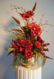 Vibrant Autumn Silk in Huntington WV, Archer's Flowers, Inc.