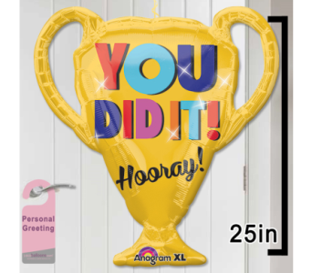 You Did it Door Balloon in 1-800 Balloons NV, 1-800 Balloons