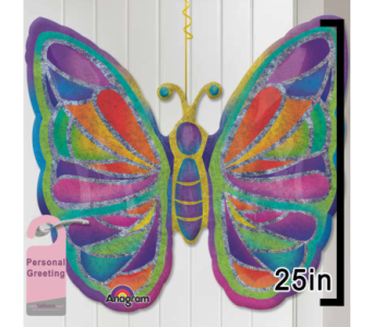 Butterfly Door Balloon in 1-800 Balloons NV, 1-800 Balloons