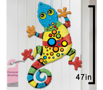 Gecko Door Balloon in 1-800 Balloons NV, 1-800 Balloons