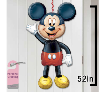 Mickey Mouse Door Balloon in 1-800 Balloons NV, 1-800 Balloons