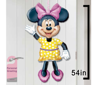 Minnie Mouse Door Balloon in 1-800 Balloons NV, 1-800 Balloons