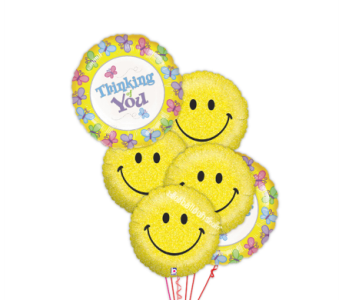 Thinking of you with Smiles by 1-800-balloons