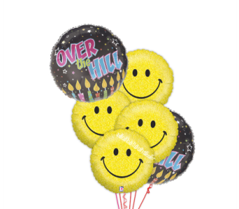 Over the Hill with Smiles by 1-800-balloons