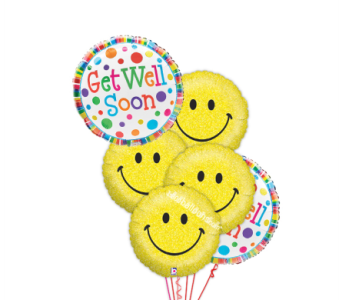 Get Well and a Smile by 1-800-balloons