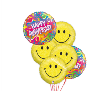 Anniversary & Smiles by 1-800-balloons