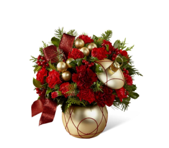 FTD Holiday Delights in Des Moines IA, Doherty's Flowers