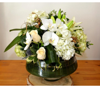 Lotus Bowl Updo in Oakville ON, Margo's Flowers & Gift Shoppe
