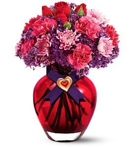 Teleflora's I Love You Bouquet in Utica NY, Chester's Flower Shop And Greenhouses
