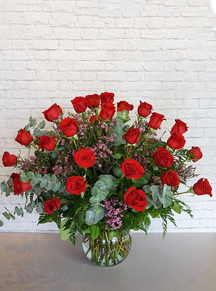 Three Dozen Premium Red Roses in Fort Myers FL, Fort Myers Florist, Inc.