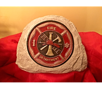 Fire Department Stone in Port Huron MI, Ullenbruch's Flowers & Gifts