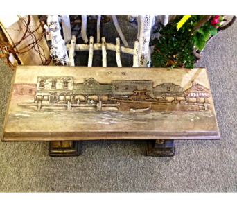 Boat/Pier Bench in Port Huron MI, Ullenbruch's Flowers & Gifts