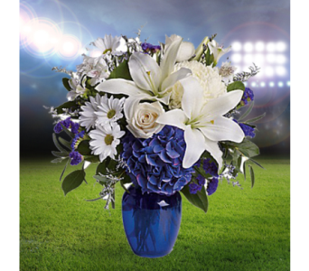 Go Blue in Indianapolis IN, George Thomas Florist