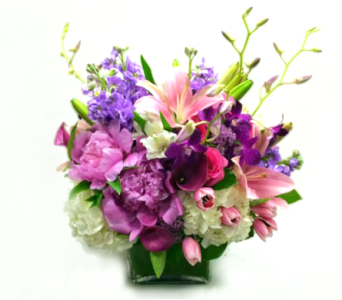 LUSH AND LAVISH BOUQUET in Arlington VA, Twin Towers Florist