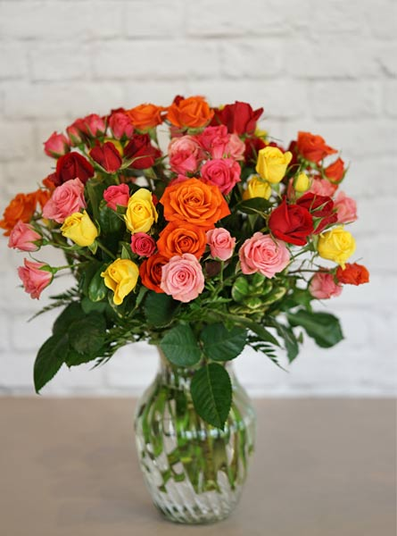 A Spray of Roses in Denver CO, Lehrer's Flowers