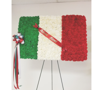 Italian flag in Yonkers NY, Beautiful Blooms Florist