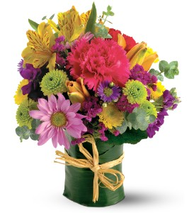 Teleflora's Posy Bunch in Dallas TX, Petals & Stems Florist