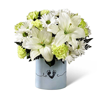 The FTD� Tiny Miracle� New Baby Boy Bouquet in Dayton OH, Furst The Florist & Greenhouses