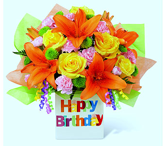 Birthday Celebration in Detroit and St. Clair Shores MI, Conner Park Florist