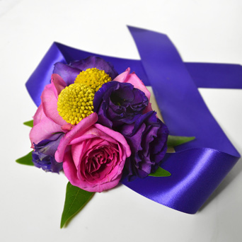 Jewelry Box Corsage in Dallas TX, Dr Delphinium Designs & Events