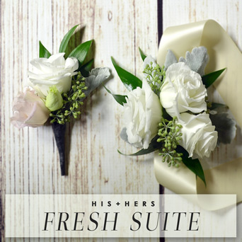 His & Hers Fresh Suite in Dallas TX, Dr Delphinium Designs & Events