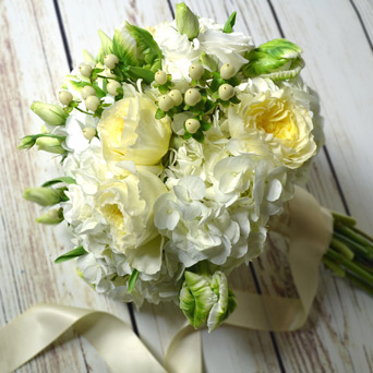Chateau Hand-Tied Bouquet in Dallas TX, Dr Delphinium Designs & Events