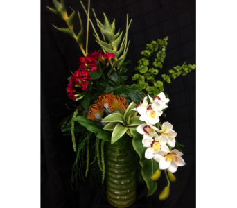 Tropical Serenity in Rockwall TX, Lakeside Florist