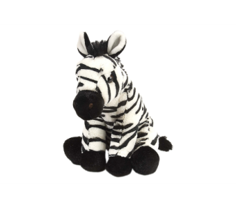 Baby Zebra Stuffed Animal - 12