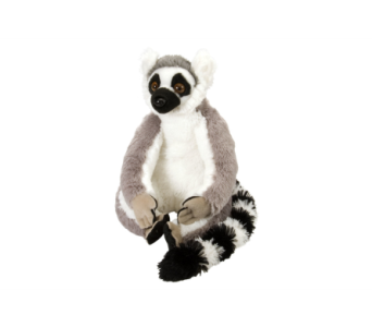 Ring Tailed Lemur Stuffed Animal - 12