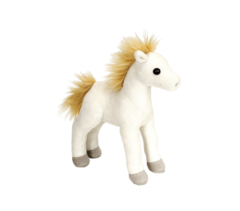 White Standing Foal Stuffed Animal - 8