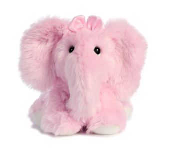 Fuzzy LE Phant Pink 10in in Ajax ON, Reed's Florist Ltd