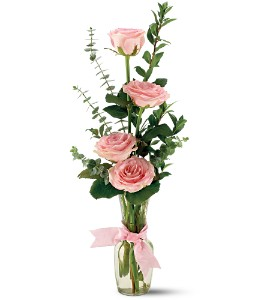 Teleflora's Rose Quartet Vase in Ottumwa IA, Edd, The Florist, Inc