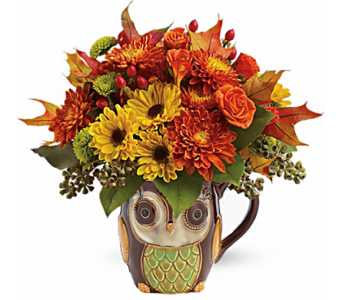 Night Owl Fall Bouquet in Birmingham AL, Norton's Florist