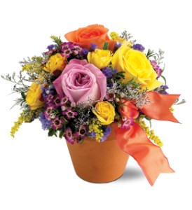 Teleflora's Sweet 'n Simple in Longview TX, The Flower Peddler, Inc.