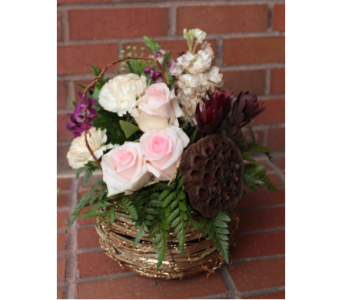 Elegant Autumn Nest in Lenexa KS, Eden Floral and Events