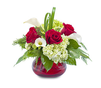 Chic Winter Romance in Greenville TX, Adkisson's Florist