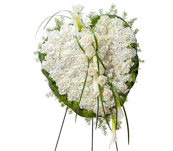 Elegant Love Heart in Raleigh NC, North Raleigh Florist