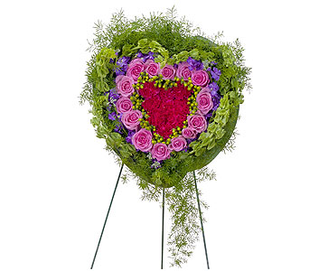 Forever Cherished Heart in Chesterton IN, The Flower Cart, Inc