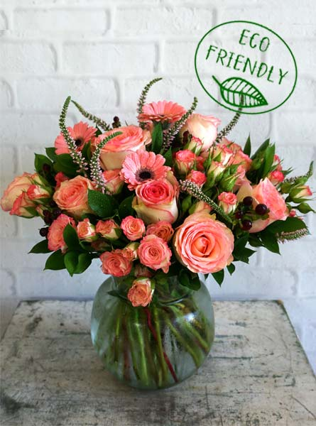 Terra in Pink in Raleigh NC, Fallons Creative Flowers
