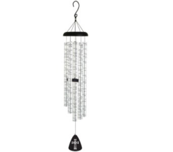 Carson 55 in. The Old Rugged Cross Wind Chime in Indianapolis IN, George Thomas Florist